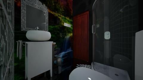 Wallpaper toilette - Bathroom - by jonofer
