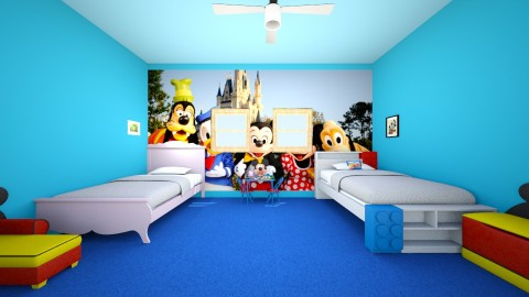 Disney room - Bedroom - by Ttheboss