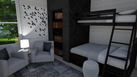 Bunkbeds - Bedroom - by LooseThreads