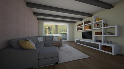 room - Living room - by louahdi abir