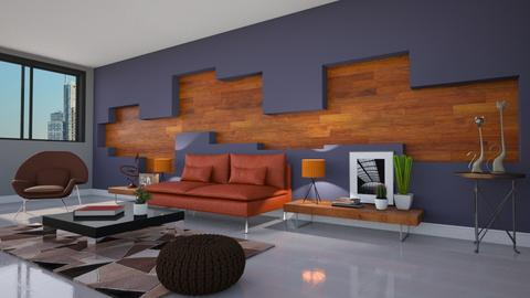 Parede Arte2 - Living room - by Alecio