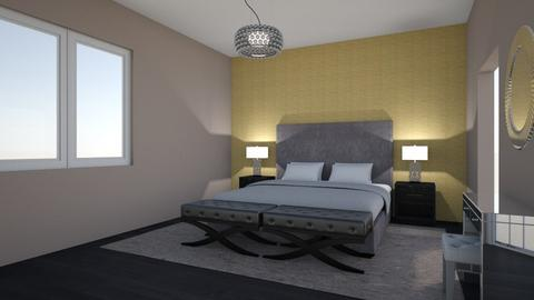Elegant Master - Glamour - Bedroom - by seelykay
