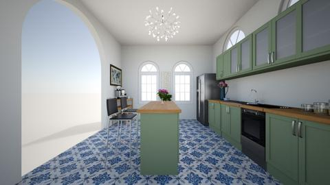 mary beths kitchen 1 - Kitchen - by mcollins6