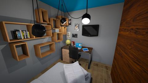 Quarto do Andre - Rustic - Bedroom - by chicofon