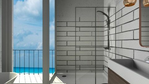 Agnet Shui Bathroom White - Modern - Bathroom - by 3rdfloor