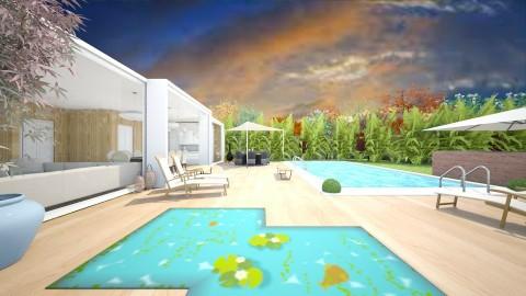 Backyard - Modern - Garden - by camilla_saurus