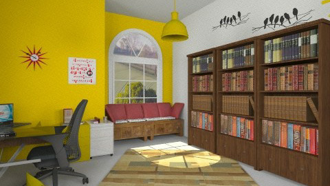 Modern office - Modern - Office - by Sotiria Oups