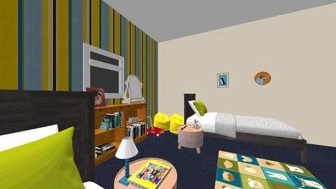 Final Room - Modern - Bedroom - by sarahisaac