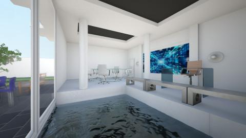 The new Mies - Minimal - Office - by Jacqueline De la Guia