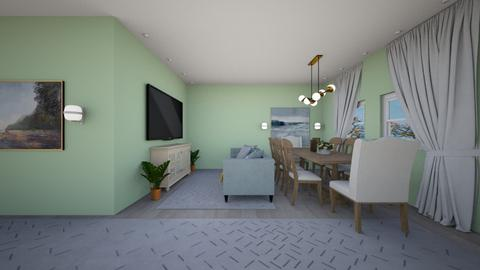 new york - Living room - by Zhannat