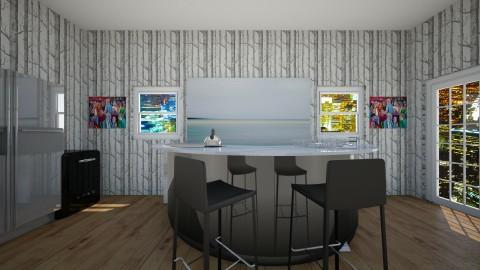 kITCHEN 102 - Modern - Kitchen - by callumip9