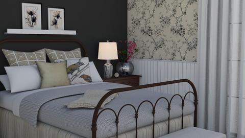 Flowers - Bedroom - by Tuija