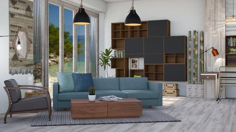 M_ Forma - Living room - by milyca8
