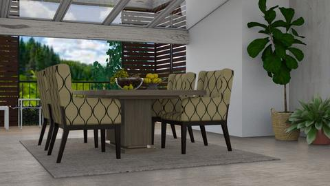 Century Dining - Modern - Dining room - by millerfam