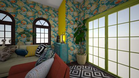 fokfok - Living room - by gokce123