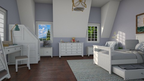 Blueberries for Sal - Classic - Bedroom - by laughterlines