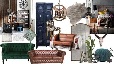 MOOD BOARD STYLE FRIC - by explosive retro