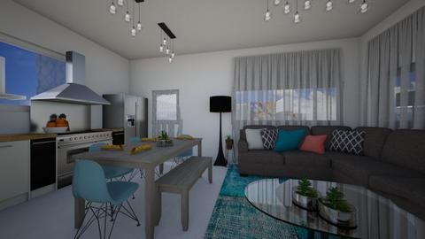 living room  gaya - Modern - Living room - by ayalamoreno