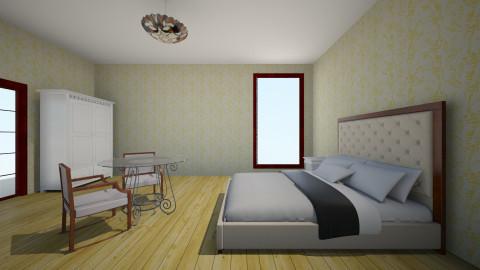 bedroom in the hotel - Bedroom - by varvaracool