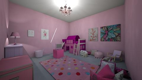 Pink Princess - Bedroom - by styler world