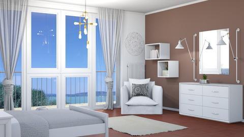 M_White - Bedroom - by milyca8