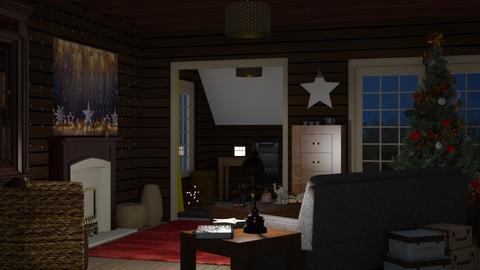 Starry_Christmas - Living room - by RaeCam