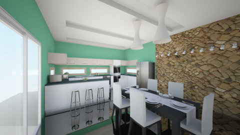 kitchen - Classic - Kitchen - by Lucrecia Pelicer