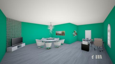 Escritorio  - Office - by mafc1997