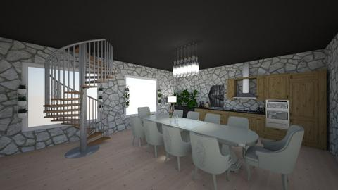 IP Artisan Kitchen - Kitchen - by corarose