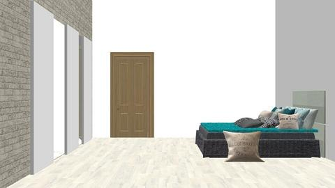 bohemian bedroom - Bedroom - by elyssaumber