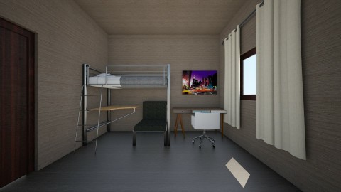 mickeal - Kids room - by OLINDEE_0245