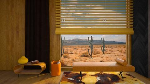 Desert Story - Living room - by Kalinowska