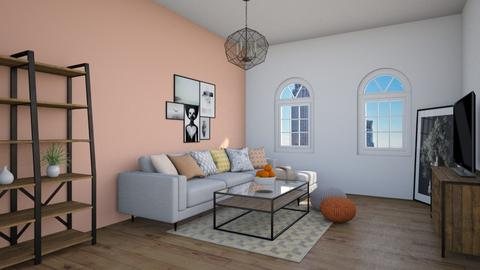 coral - Living room - by tj94