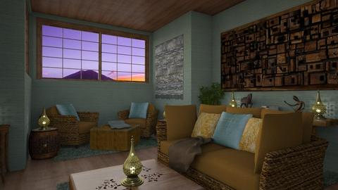 bohemian - Living room - by daydreamer84