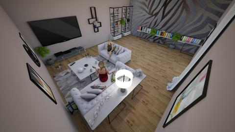 family home 82 - Modern - Living room - by Stavroula Chatzina