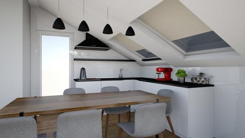 apartament b - Modern - Living room - by tarataioana