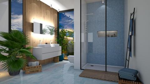 bathroom - Modern - Bathroom - by rungsimas