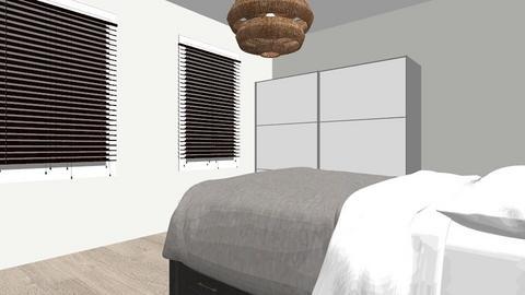 Sarah kamer - Bedroom - by Sarah Rabii