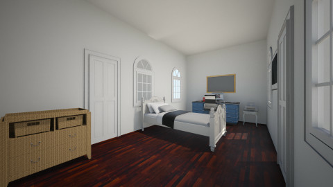 Collage bedroom - Bedroom - by dionicholson60