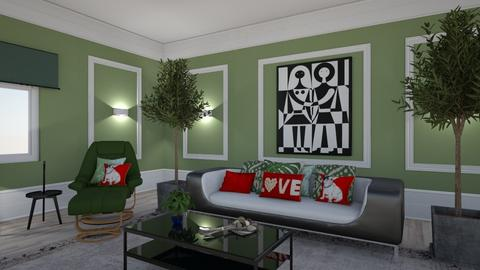 Maximalist Livingroom - Living room - by matina1976