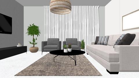 sharom 105 - Living room - by sharom