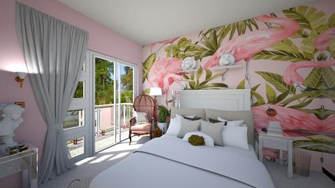 Flamingo - Eclectic - Bedroom - by tieganclayton