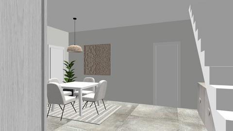 salon almudena sin tabiqu - Living room - by tereformo