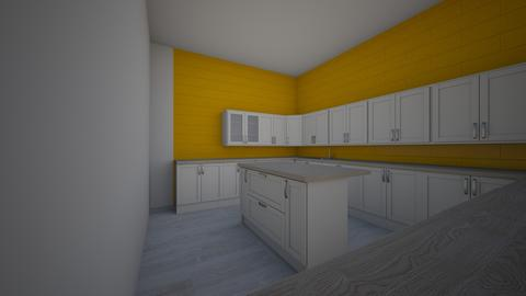 yellow mess - Kitchen - by cinderella1111
