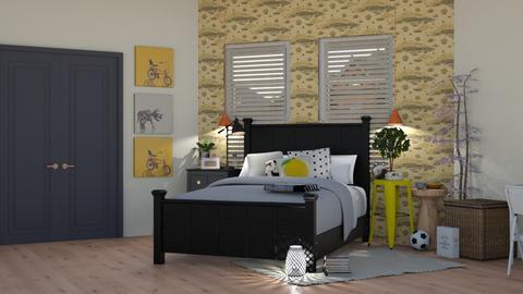 Teen Room - Bedroom - by FayBeeMee