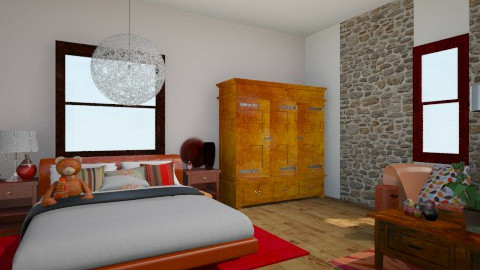 etnica - Bedroom - by Sonia Fabris