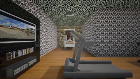 Heathers Room - Retro - Bedroom - by HeatherLeeClifford