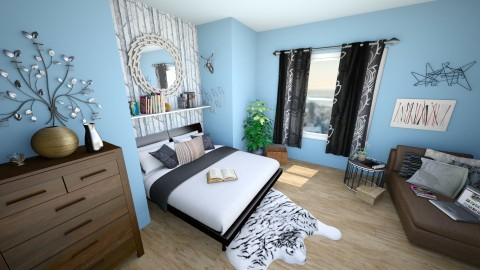 Cozy comfort - Bedroom - by elen0232