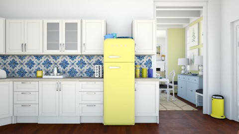 Yellow - Kitchen - by ANM_975
