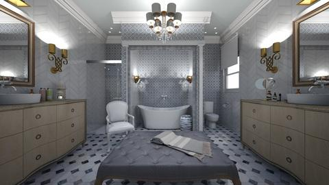 old meets new - Bathroom - by dadearin